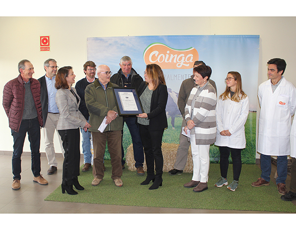 COINGA certificada en Bienestar Animal Welfair™